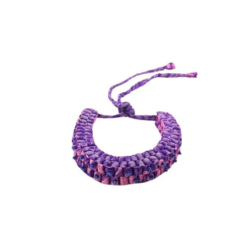 Criss Cross collection - Necklace with beads