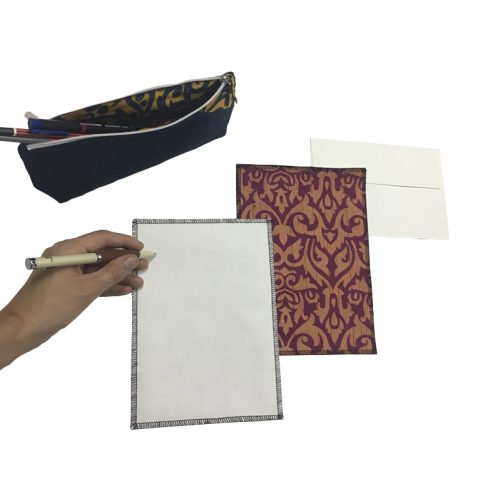 Words collection - Writing set (10 sheets and envelopes)
