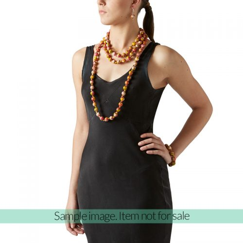 "Beads collection - Set with necklace 79"" / 200cm"