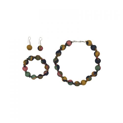 """Beads collection - Set with necklace 16"""" / 41cm"""