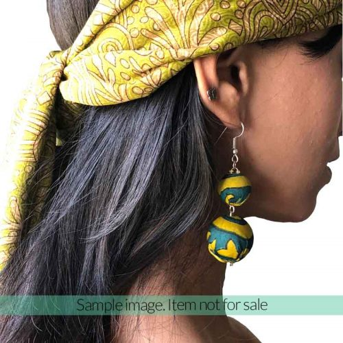 Beads collection Maxi Earrings 2 x