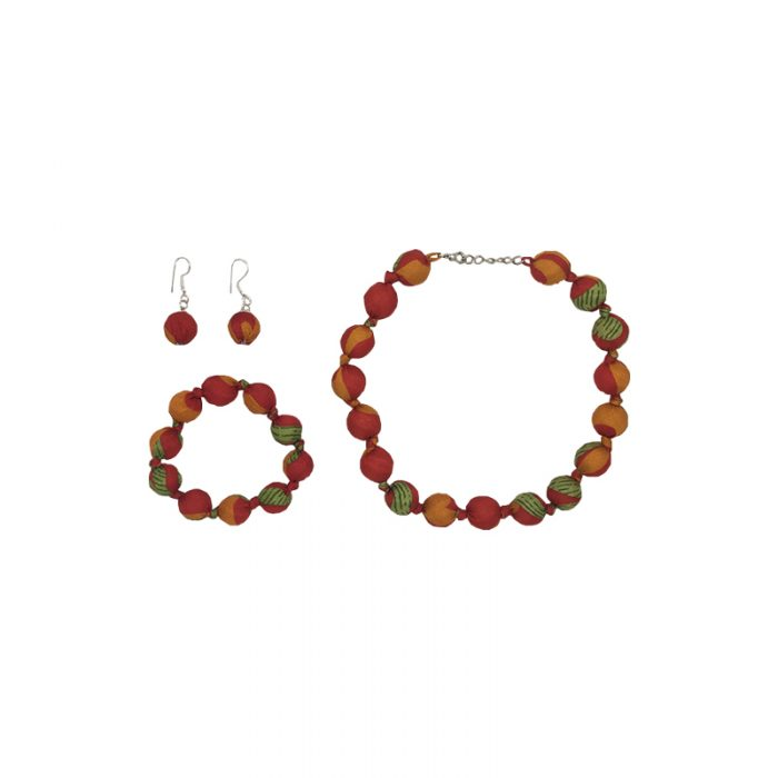 "Beads collection - Set with necklace 16"" / 41cm"