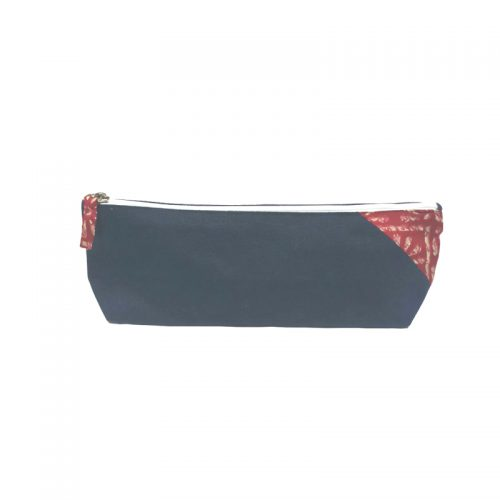 Carry collection - Canvas pencil Pouch 9 x 3'' / 23 x 8 cm