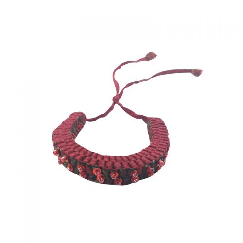 Criss Cross collection - Bracelet with beads