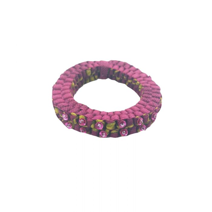 Criss Cross collection - Round bracelet with beads