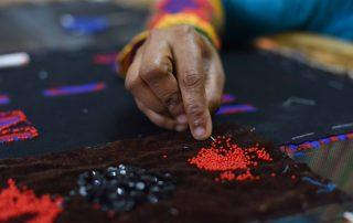 I was a Sari artisan