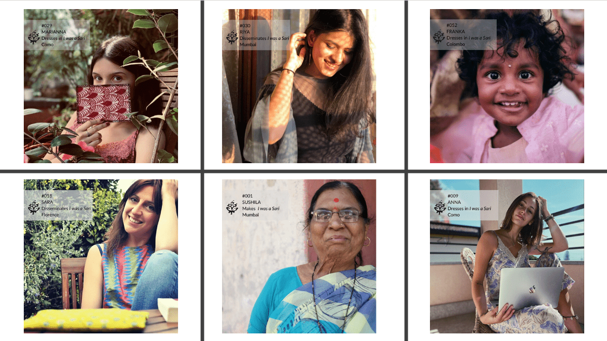 Stories from different parts of the world, by people who wear, disseminate and make I was a Sari